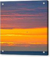 Sunset Near Honolulu Harbor Acrylic Print