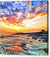 Sunset Near Old Kona Airport Acrylic Print