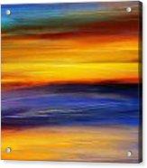 Sunset Of Light Acrylic Print