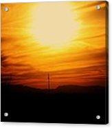 Sunset Of Tularosa Acrylic Print