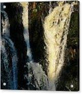 Sunset On A Waterfall Acrylic Print