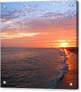 Sunset On Balboa Acrylic Print