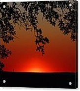 Sunset On Jekyll Island Acrylic Print