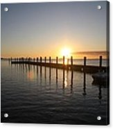 Sunset On Key Largo Acrylic Print