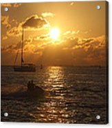 Sunset Over Key West Acrylic Print