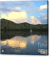 Sunset On Komodo Acrylic Print