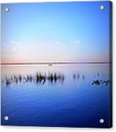 Sunset On Lake Washington 2 Acrylic Print by Kay Gilley