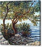 Sunset On Morada Bay Acrylic Print