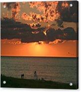 Sunset On Race Point Beach Acrylic Print