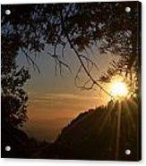Sunset On San Jacinto Acrylic Print