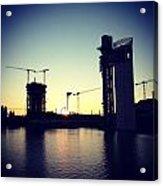 Sunset On Sevilla Acrylic Print
