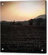 Sunset On The Adda Acrylic Print