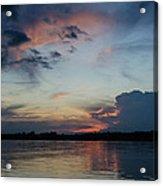 Sunset On The Amazon 3 Acrylic Print