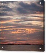Sunset On The Bay Acrylic Print