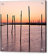 Sunset On The Bay I Acrylic Print