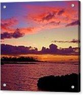 Big Island Sunset - Hawaii Acrylic Print