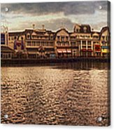 Sunset On The Boardwalk Walt Disney World Acrylic Print