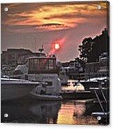 Sunset On The Island Acrylic Print