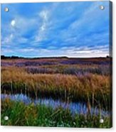 Sunset On The Marsh Acrylic Print