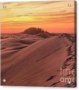 Sunset On The Ridge Acrylic Print