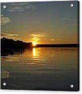 Sunset On The Zambezi 2 Acrylic Print