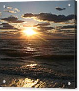 Sunset On Venice Beach  Acrylic Print