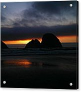Sunset Oregon Coast Acrylic Print
