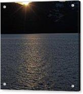 sunset over Alaska Acrylic Print