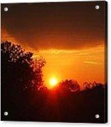 Sunset Over Blackburne 2 Acrylic Print