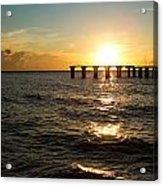Sunset Over Boca Grande Florida Acrylic Print