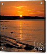 Sunset Over Brewster Flats Acrylic Print