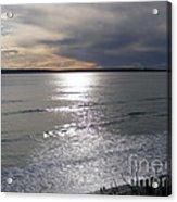 Sunset Over Calypso Beach Acrylic Print
