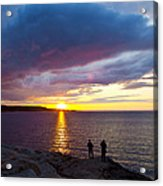 Sunset Over Canso Bay Acrylic Print