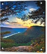 Sunset Over Edwards Point Acrylic Print