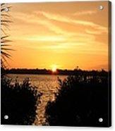 Sunset Over Intercoastal Acrylic Print