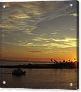 Sunset Over Jetty Point Acrylic Print