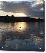 Sunset Over Lake George Acrylic Print