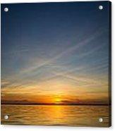 Sunset Over Lake Livingston 6 Acrylic Print