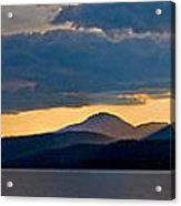 Sunset Over Lake Pend Oreille Acrylic Print