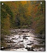 Sunset Over Little River Acrylic Print