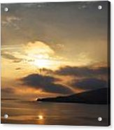 Sunset Over Loch Broom Acrylic Print by Ed Pettitt