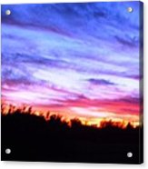 Sunset Over Madisonville Acrylic Print