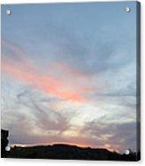 Sunset Over Monhegan Acrylic Print