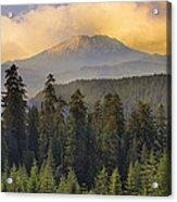 Sunset Over Mount St Helens Acrylic Print