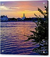Sunset Over New Orleans 1 Acrylic Print