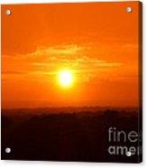Sunset Over Ohio 2010. No.1 Acrylic Print