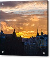Sunset Over Old Moscow - Featured 2 Acrylic Print