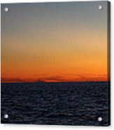 Sunset Over Point Lookout Acrylic Print