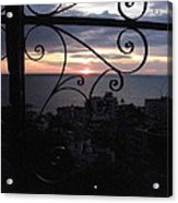 Sunset Over Puerto Vallarta Acrylic Print