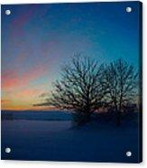 Sunset Over Sattuna Acrylic Print